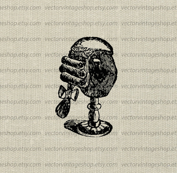 Items similar to wig. Bomb clipart old fashioned