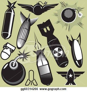 Bomb clipart old school. Missile drawings art collection