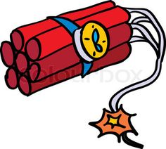 Bomb clipart old school. Dynamite explosion svg files
