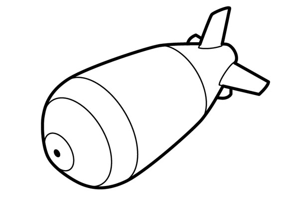 Bomb clipart outline. Clip art library