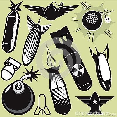 Cilpart majestic design ideas. Bomb clipart retro