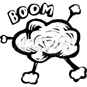 Explosion drawing at getdrawings. Bomb clipart retro