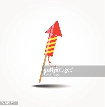 Bomb clipart rocket. Color fireworks premium clipartlogo