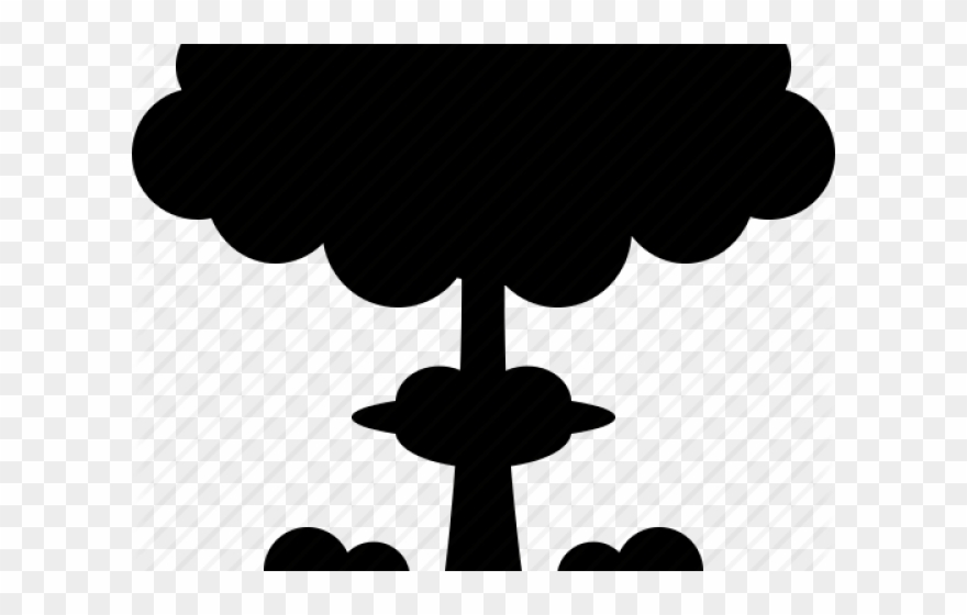 Nuclear png pinclipart . Bomb clipart silhouette