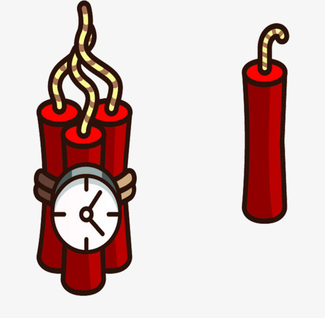 Bomb clipart time bomb. And a firecracker timing