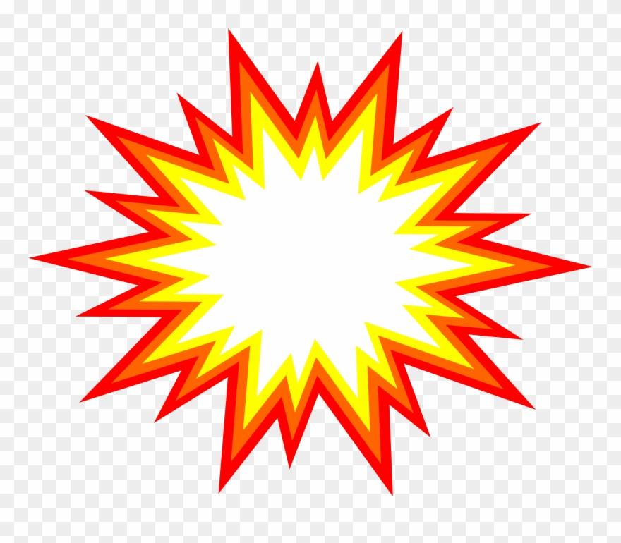 Bomb clipart transparent background. Star burst png