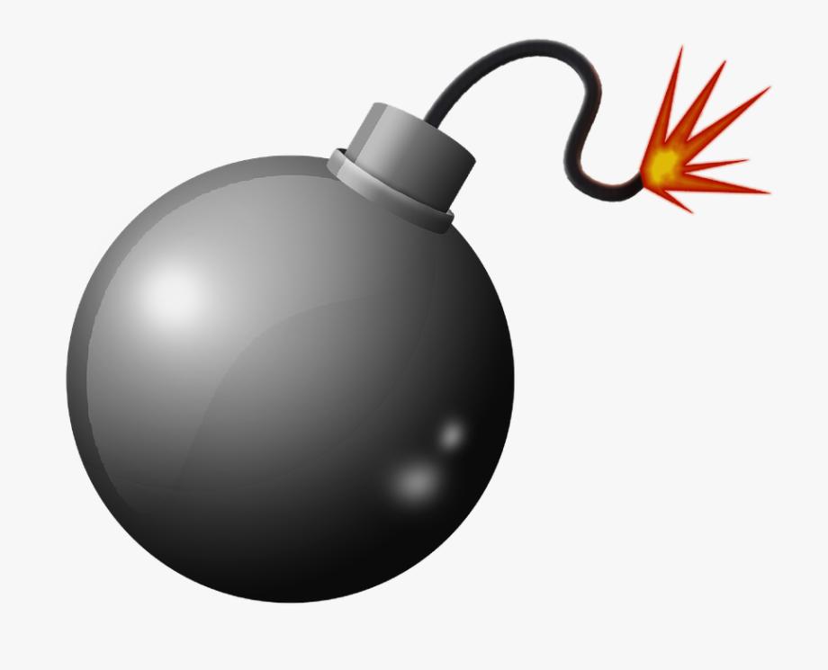 Bomb clipart transparent background. Explosion explosive png