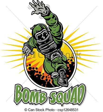 Bomb clipart vector art. Squad panda free images