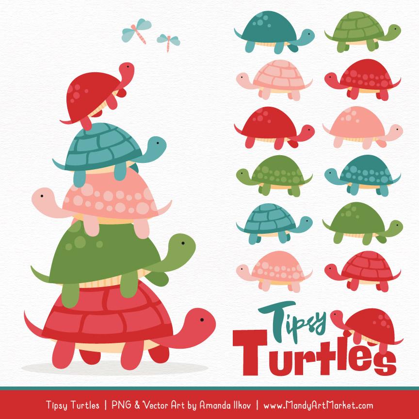 Cherry turtle stack vectors. Bomb clipart vector art