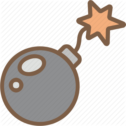 Development element icon search. Bomb clipart video game