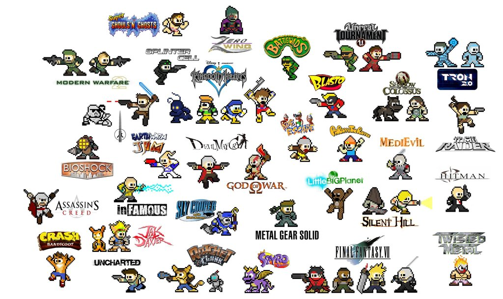 Bomb clipart video game. Every in bit geek
