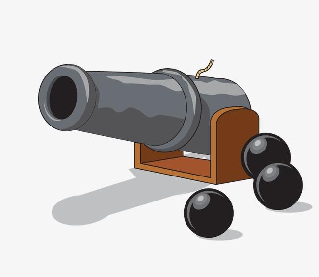 Cartoon artillery world war. Bomb clipart ww2