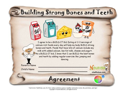 Building strong bones and. Bone clipart bone tooth