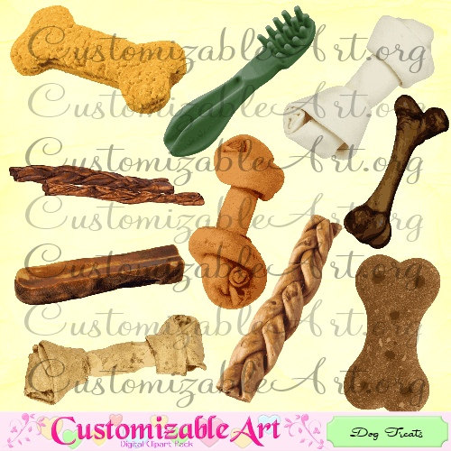 Bone clipart dog biscuit. Treats digital treat clip