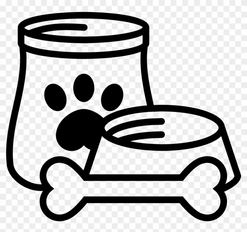 Bone clipart dog food. And comments pet container