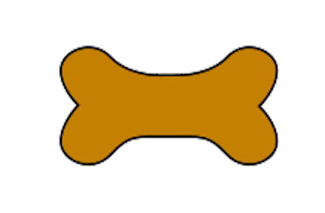 Clip art clipartpost . Bone clipart dog toy