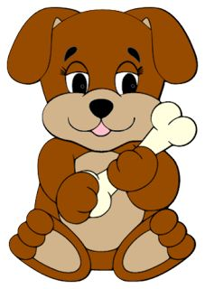 Dogs cartoon image and. Bone clipart dog toy