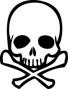 Image result for skull. Bone clipart easy