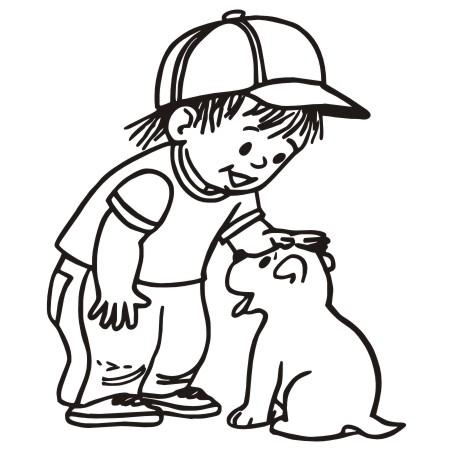 Bone clipart kid. Dog for kids free