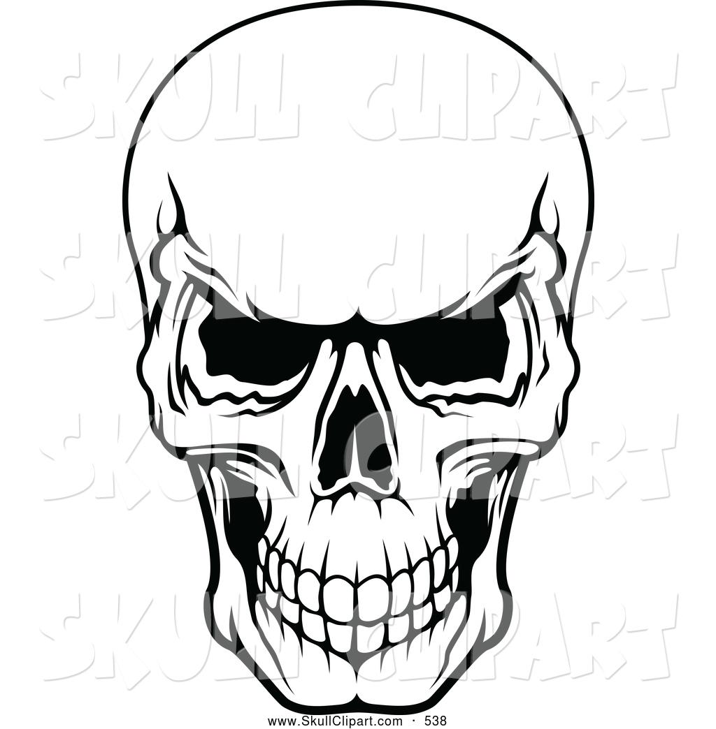 Skull clipartbarn download. Bone clipart kid