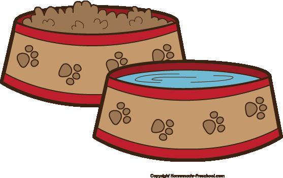 Dog bowl kccanine happy. Bone clipart kid