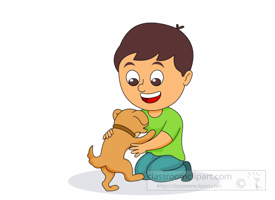 Picture of dog free. Bone clipart kid