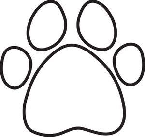 Print clip art free. Bone clipart paw patrol