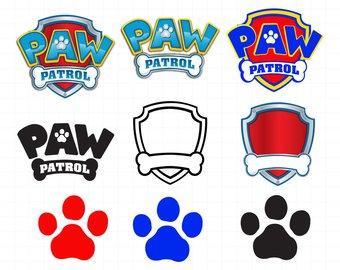Bone clipart paw patrol. Mom svg etsy silhouette