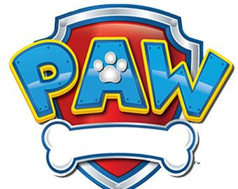 Border google search party. Bone clipart paw patrol