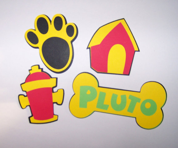 Bone clipart pluto.  die cut shapes