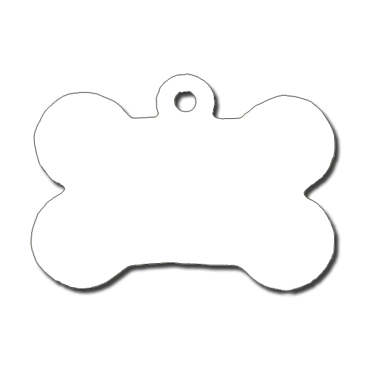 Dog tag . Bone clipart printable