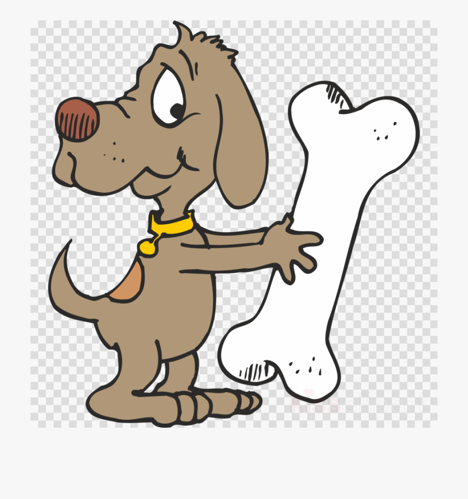 Dog with png biscuit. Bone clipart puppy bone
