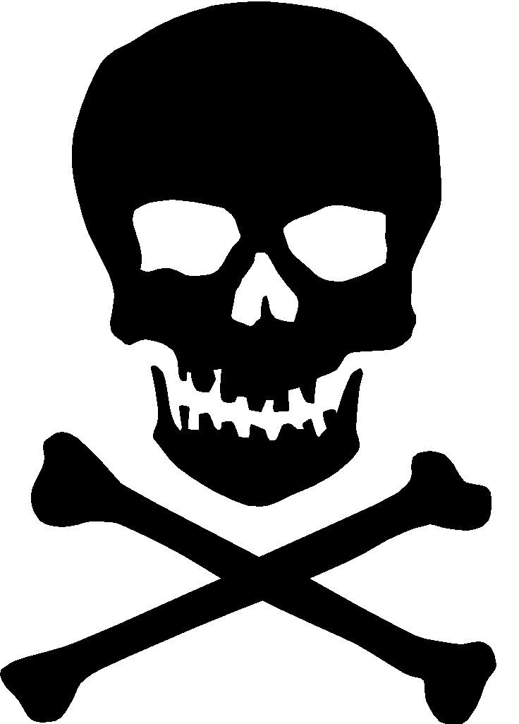 Outlaw communications blog have. Bone clipart skull