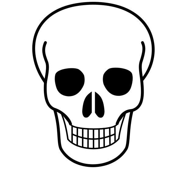 Skeleton drawing at getdrawings. Bone clipart skull