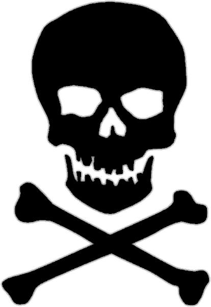 Bone clipart skull. And crossbone
