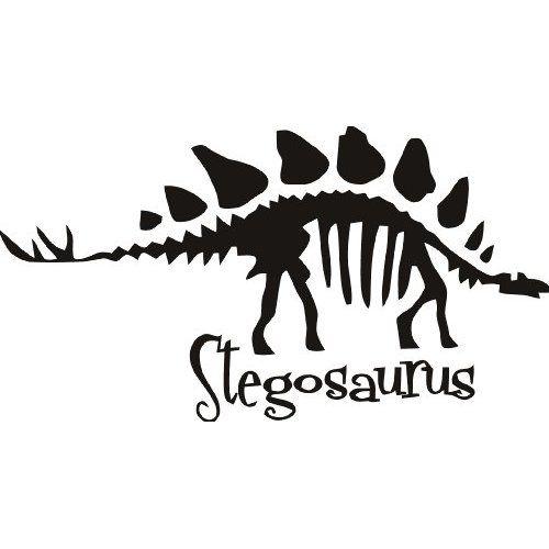 Bone clipart stegosaurus.  best dinosaurs silhouettes