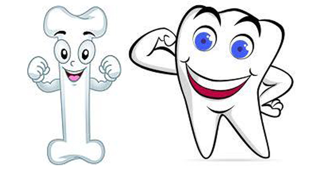 Bone clipart strong bone. Cartoon bones