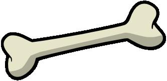 Bone clipart transparent background. Clipartist net clip art