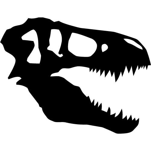 Dinosaur in dirt clipground. Fossil clipart t rex fossil