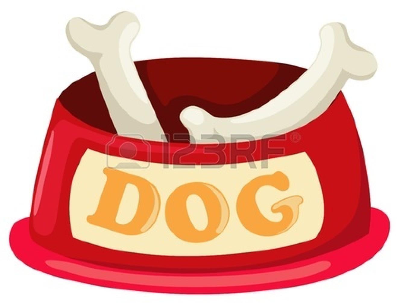 Bone clipart vector. Bones red dog pencil