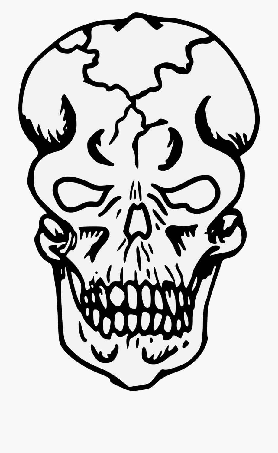 Traceable free . Bones clipart illustration