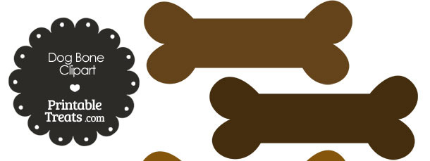 Bone clipart printable. Dog in shades of