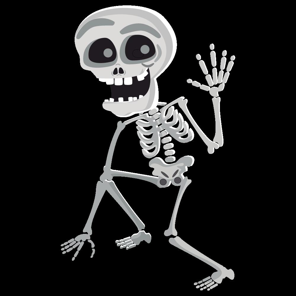 Skeleton skulls png images. Bones clipart transparent background