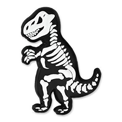 Pinmart t rex skeleton. Bones clipart trex