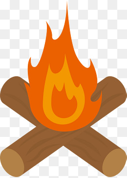 Bonfire clipart. Png vectors psd and