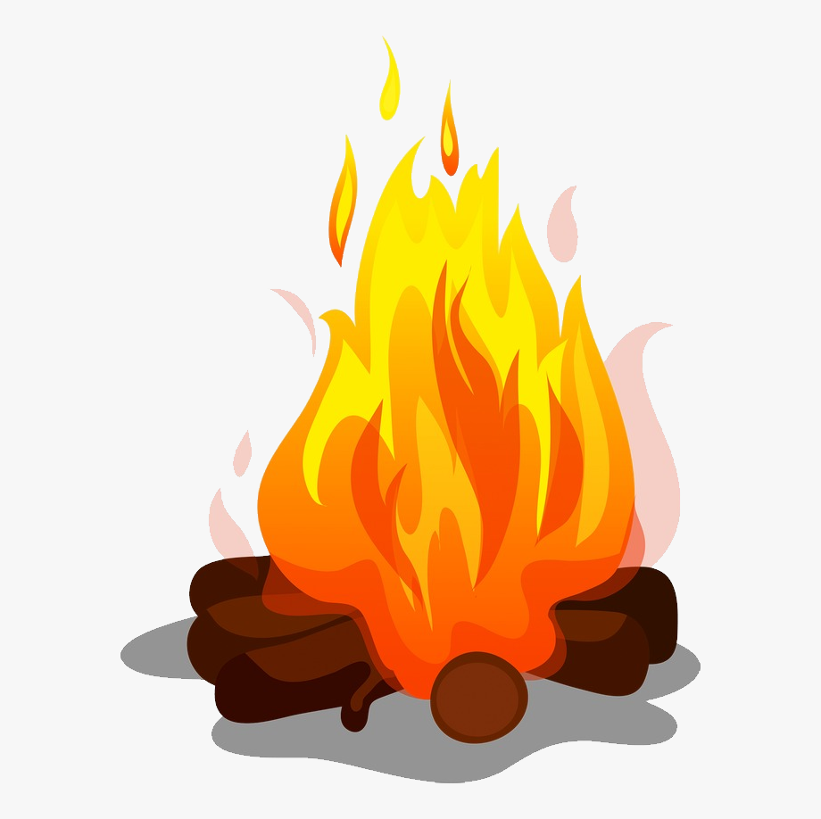 Campfire clipart transparent background. Bonfire png bon fire