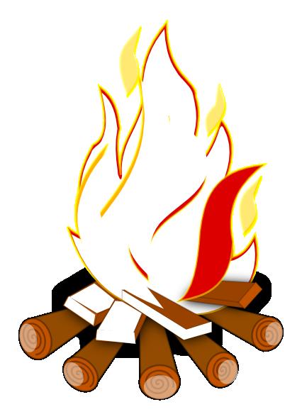 Campfire clipart campfire smoke. Bonfire cartoon panda free
