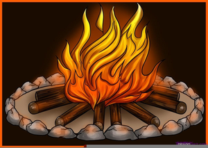 Campfire clipart animated. Free images at clker