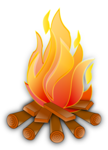 Campfire clipart cartoon. Clip art at clker