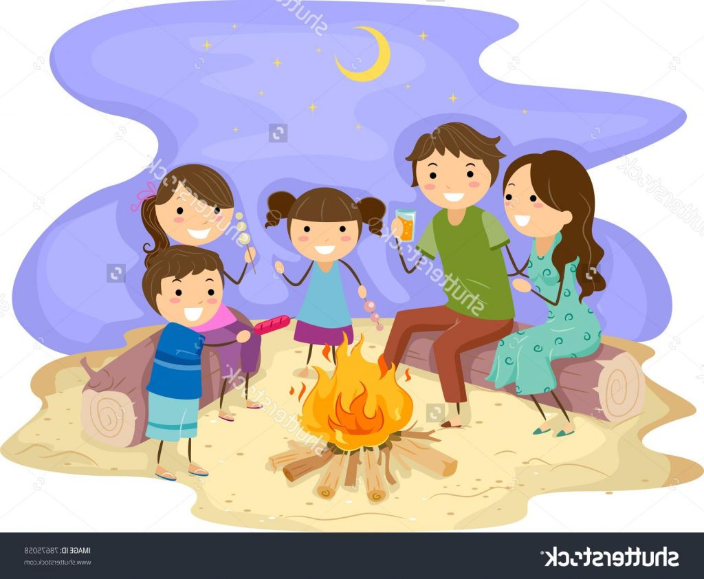 Bonfire clipart beach. Best file free
